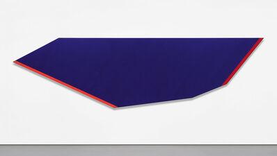 Kenneth Noland, 'Hot Blue', 1980