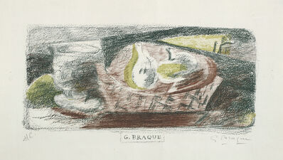Georges Braque, 'Nature Morte III (Verre et fruits) (Still Life III, Glass and Fruit)', 1921
