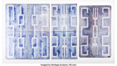 Gio Ponti, 'Group of Eight Tiles', 1951