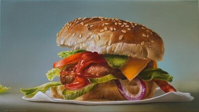 Tjalf Sparnaay, 'Hamburger with Red Onion', 2018