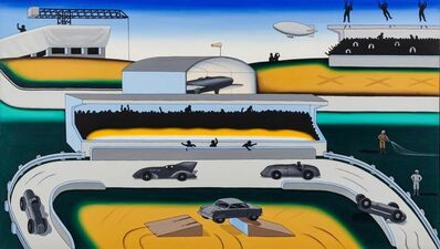 """Roger Brown, 'A Sunday Afternoon at the """"Grand Slam""""', 1972"""
