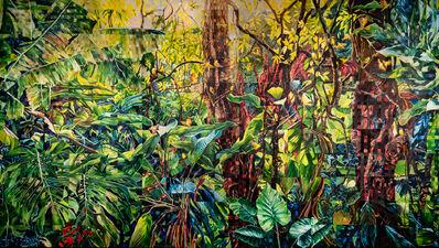 Sandra Mazzini, 'Forest with Bem-te-vis', 2017