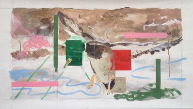 Thierry Lagalla, 'La chasse (le tableau)', 2014