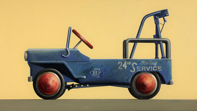 Wendy Chidester, 'Blue Two Truck (Pedal Car)', 2018
