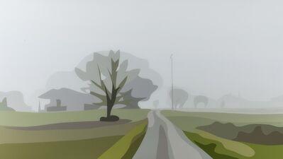 Julian Opie, 'Winter 31 (Cristea 209)', 2012
