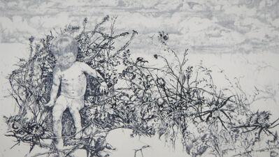 Renzo Vespignani, 'Naked among the brambles', 1974