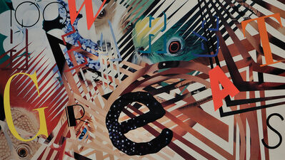 James Rosenquist, 'Talking, Flowers Ideas', 1987