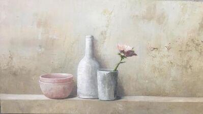 MARTA GÓMEZ DE LA SERNA, ' still life with flower', 2019