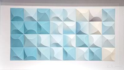Matt Shlian, 'Omoplata 5 (Blue Test)', 2019
