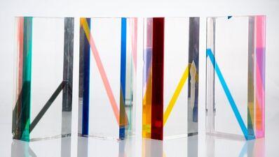 Vasa Velizar Mihich, 'Four Columns', 1972