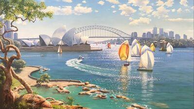 Falk Kautzner, 'Sparkling Sydney Harbour', 2017