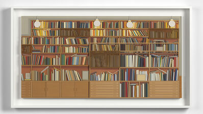 Lucy Williams, 'Library at Maison Louis Carré', 2017