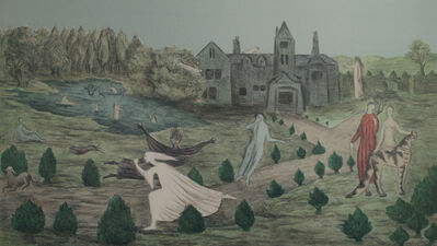 Leonora Carrington, 'Crookhey Hall', 1979