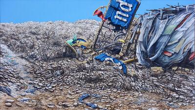 Jeff Gillette, 'Slum Landfill Disneyland Sign End ', 2016