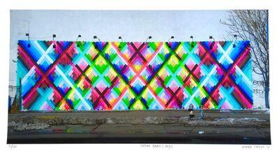 Maya Hayuk, 'Chem Trails (Bowery Wall)', 2014