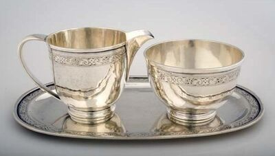 Katherine Pratt, 'Cream and Sugar Set', 1891-1978