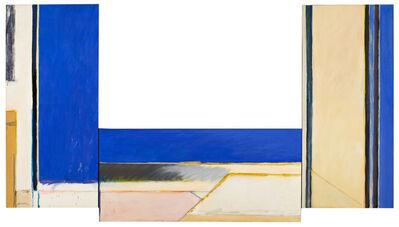 Albert Ràfols-Casamada, 'Triple construcció blava', 1977