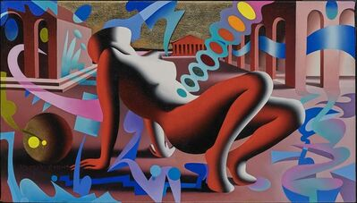 Mark Kostabi, 'Releasing Multitudes ', 2017