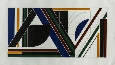 Garo Antreasian, 'Triangulum X: Hommage to FL, 3/12', 1983