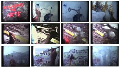 Carlos Castillo, 'Ciudad vs Arte / City vs Art', 1981