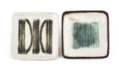 Bruno Gambone, 'Pair of small ashtrays'