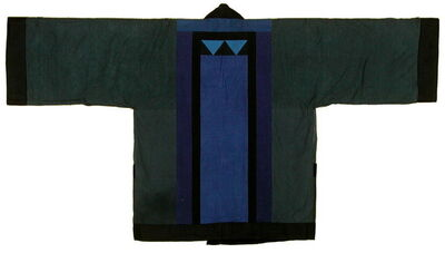 Chant Avedissian, 'Jacket black cotton with hand-dyed colour parts', 1988