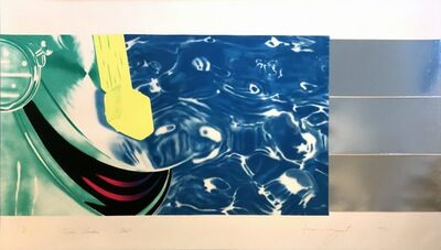 James Rosenquist, 'Horse Blinders (West)', 1972