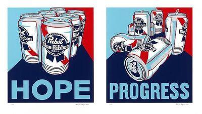 Steven Gagnon, 'Hope & Progress (Diptych)', 2010