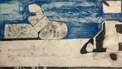 Richard Diebenkorn, 'Blue Softground', 1985