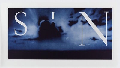 Ed Ruscha, 'Sin - Without', 2003
