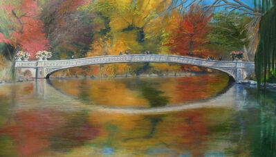 Anita Arellano, 'Bow Bridge, Fall', 2017