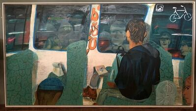 Louis Fratino, 'Night Train', 2016