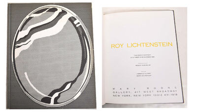 "Roy Lichtenstein, '""The Mirror Paintings"", Exhibition Catalogue, Mary Boone Gallery NYC, First Edition, RARE', 1989"