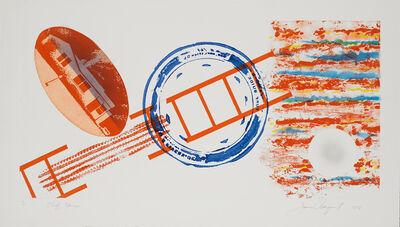 James Rosenquist, 'Cliff Hanger State I', 1978
