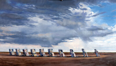 Don Stinson, 'Cadillac Ranch', 2017