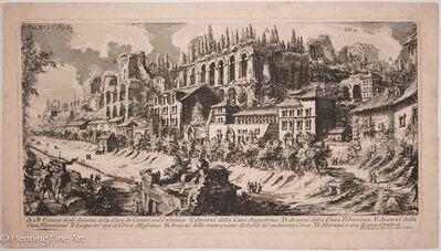 Giovanni Battista Piranesi, 'View of the Great Emperors Homes, Plate 35', ca. 1890