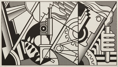 Roy Lichtenstein, 'Peace Through Chemistry III', 1970