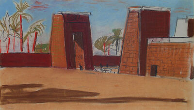 Louis Kahn, 'Southeast Pylons, Temple of Ammon,', 1951