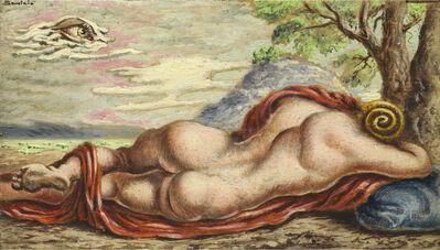 Alberto Savinio, 'Il riposo di Hermaphrodito', 1944-1945