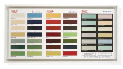 Damien Hirst, 'Colour Chart', 2017