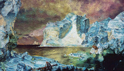 Vik Muniz, 'Pictures of Pigment: The Icebergs, after Frederic E. Church', 2007