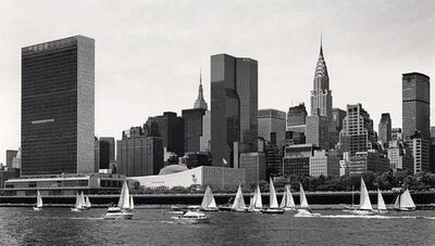 George Forss, 'East River Regatta', 1977