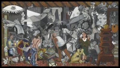 Red Grooms, 'Studio at the rue des Grands Augustins', 1990-1996