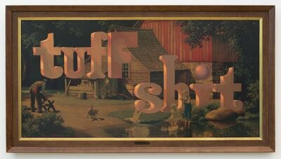 Wayne White, 'Tuff Shit', 2014