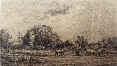 Charles François Daubigny, 'Lever de Lune', 1861