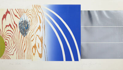 James Rosenquist, 'Horse Blinders (North) (From Horse Blinders: North, South, East, West)', 1972