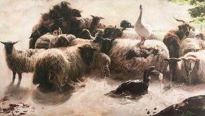 Guillermo Lorca, 'The Herd', 2017