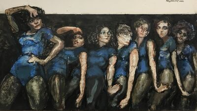 Henry Schwartz, 'Andrea Among Dryads (A Chorus Line)', 1982