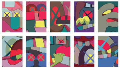 KAWS, 'Ups and Downs (Portfolio of 10 Prints)', 2013