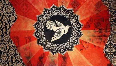 Shepard Fairey, 'Peace Goddess Mural (Triptych)', 2011